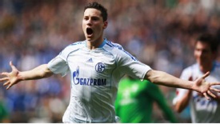 Julian Draxler is one of the Bundesliga's hottest young prospects.