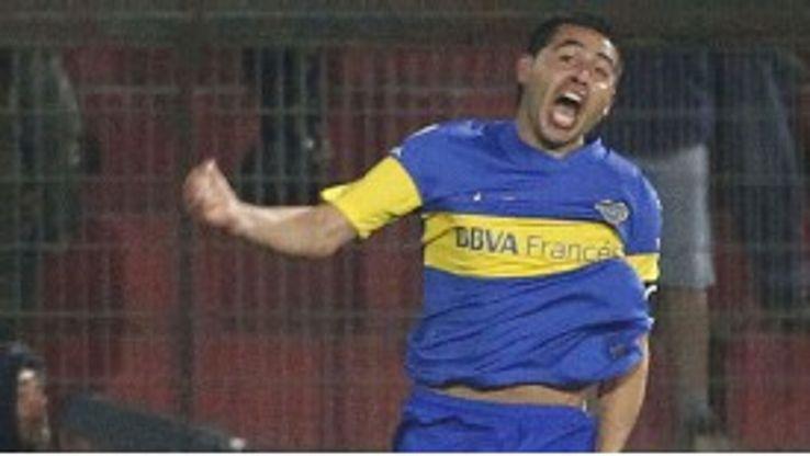 Riquelme starred as Boca slayed Union Espanola