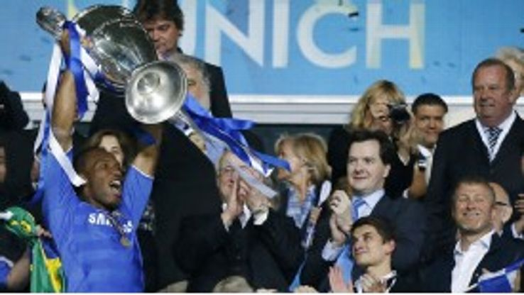 Didier Drogba was a key figure in Chelsea's first Champions League triumph