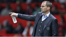 Frank de Boer has won the Dutch title with Ajax for the last three seasons