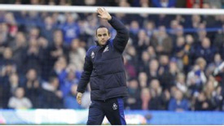 Landon Donovan is keen to return to Everton