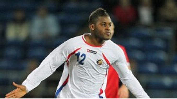 Joel Campbell spent the 2011-12 season on loan with Ligue 1 club Lorient