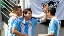 Messi scored a glorious hat-trick to pull off a remarkable victory for Argentina over Brazil