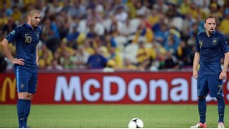 Karim Benzema and Franck Ribery: Key duo for France