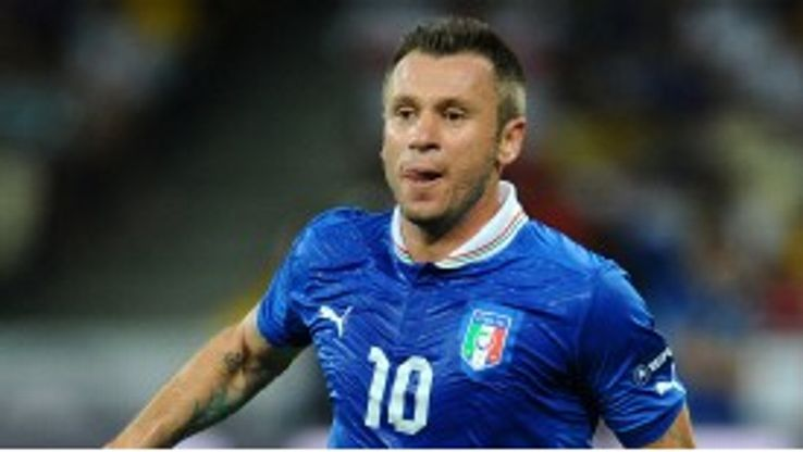 Antonio Cassano could be on the move