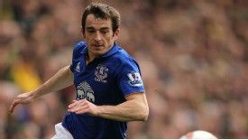 Everton's Leighton Baines will start in Moldova