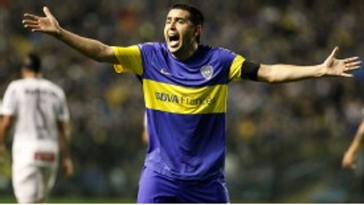 Riquelme previously insisted he would never join Boca again