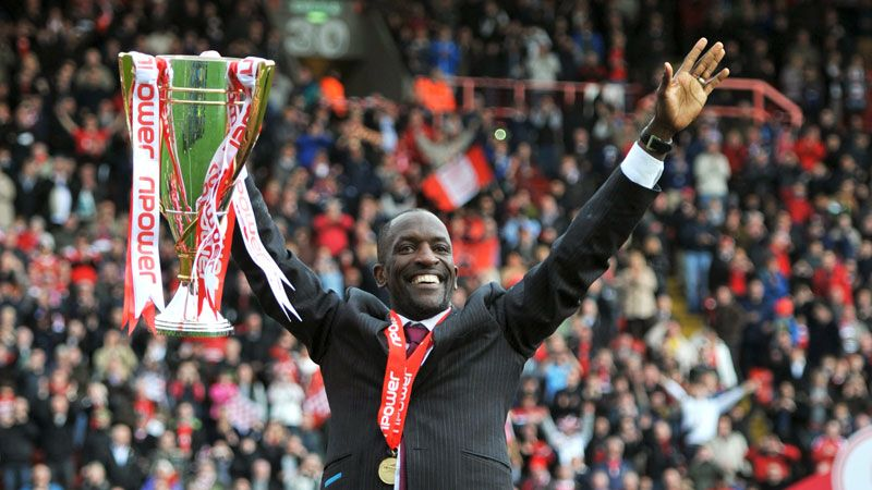 Chris Powell led Charlton to the League One title last season