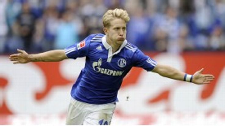 Lewis Holtby has starred for Schalke