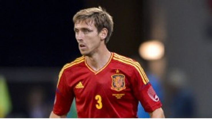 Nacho Monreal missed the cut for Spain's Euro 2012 squad