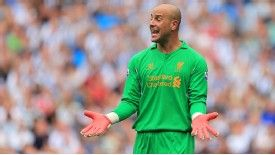 Brendan Rogers will be hoping to have Pepe Reina back in time for the club's next fixture