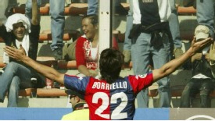 Marco Borriello has returned to Genoa