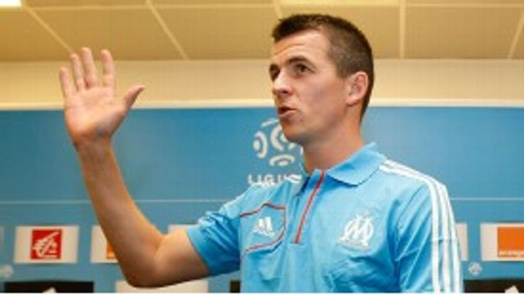 Joey Barton is on loan at Marseille