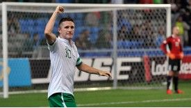 Robbie Keane is set to break the appearance record for Ireland.