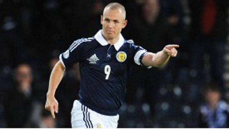 Kenny Miller spared Scotland's blushes with an equaliser at home to Macedonia