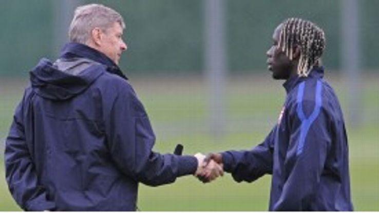 Arsene Wenger rates defender Bacary Sagna highly