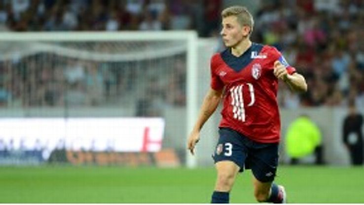 PSG and Monaco are battling to sign Lille defender Lucas Digne