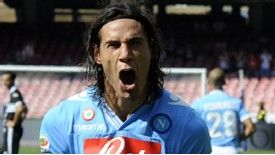 Edinson Cavani hit a hat-trick