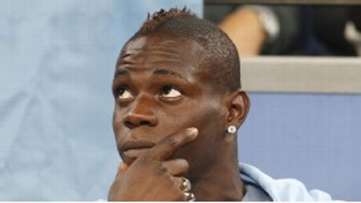 Roberto Mancini left Mario Balotelli out of the squad for the Real Madrid defeat