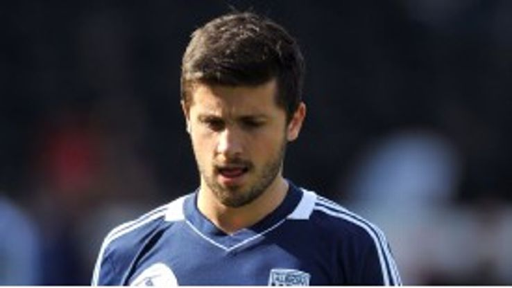 West Bromwich Albion striker Shane Long