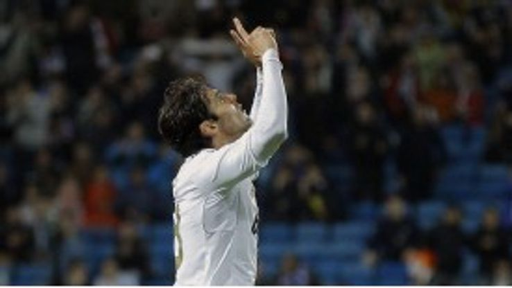 Kaka has struggled to make an impact since joining Real Madrid