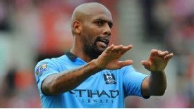 Maicon picked up an injury on debut for Manchester City