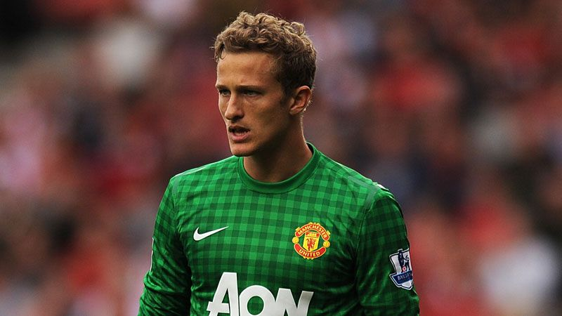 Anders Lindegaard has been given opportunities in the Premier League this season