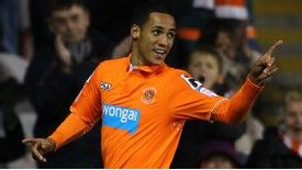 Tom Ince is highly-rated at Blackpool