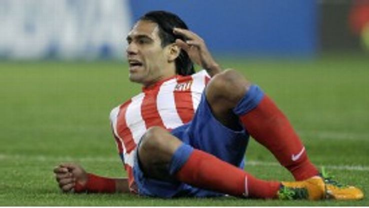Radamel Falcao has been linked with a host of clubs