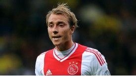 Christian Eriksen intends to keep his focus on Ajax at least until the summer