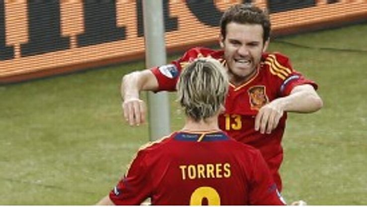 Fernando Torres and Juan Mata are team-mates for both club and country