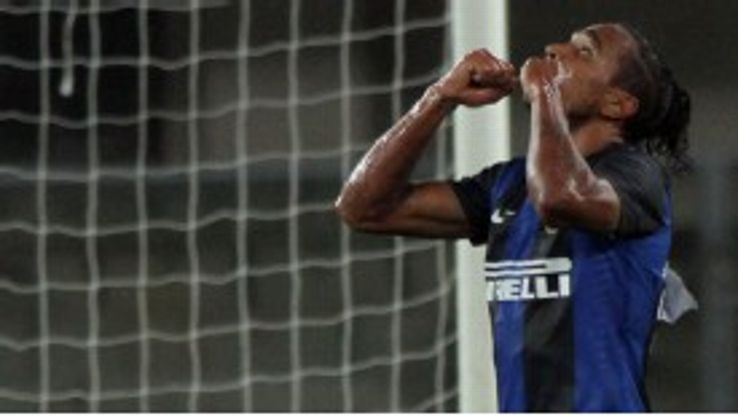 Alvaro Pereira has impressed for Inter