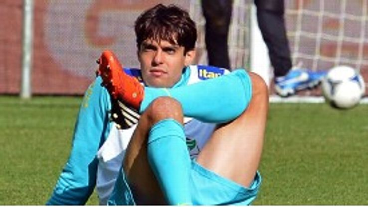 Kaka has endured a decline in form in recent years