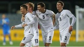 Michael McGlinchey was at the double for New Zealand in Christchurch