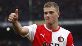 John Guidetti enjoyed a successful loan period at Feyenoord