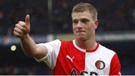 John Guidetti enjoyed a successful loan period at Feyenoord
