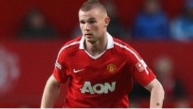 Ryan Tunnicliffe of Manchester United