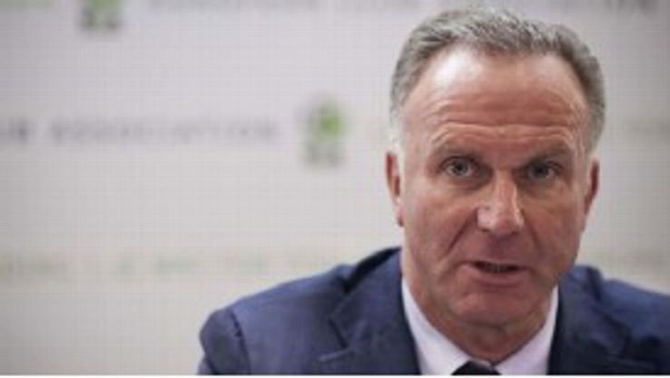 Don't preach water and drink wine instead, says Rummenigge.