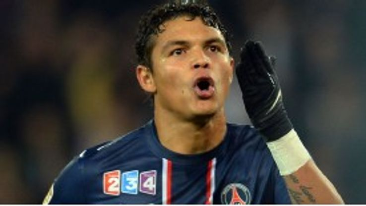 Thiago Silva scored from the spot for PSG