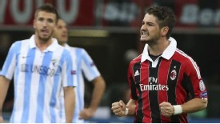 Alexandre Pato suffered a frustrating period at AC Milan