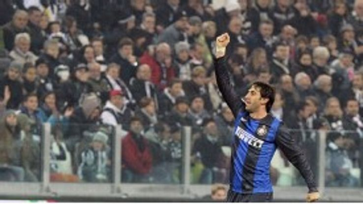 Diego Milito continues to deliver for Inter