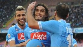 Edinson Cavani has helped Napoli to a fine start to the season