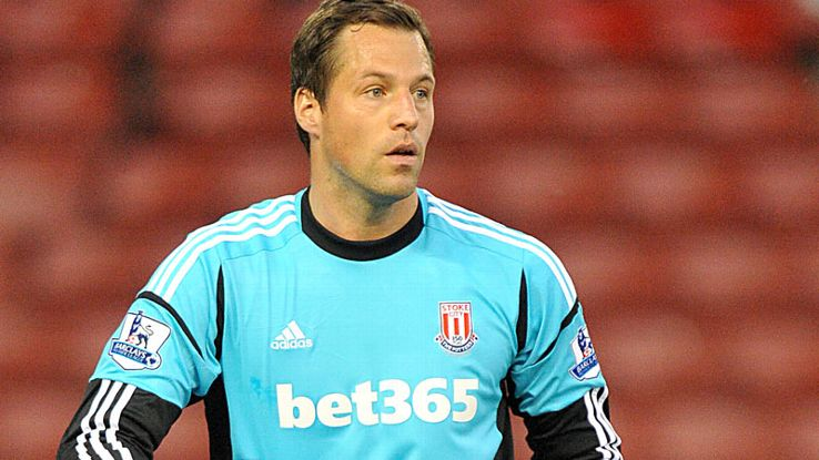 Sorensen has only made one appearance for Stoke this season