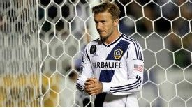David Beckham denied he's interested in the Australian League.