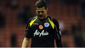 Julio Cesar ponders QPR's position at the foot of the Premier League
