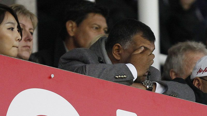 Tony Fernandes can't watch as QPR crash to another defeat