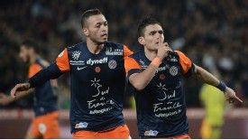 Remy Cabella celebrates his goal against PSG