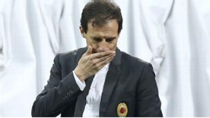 Allegri is rebuilding his Milan squad