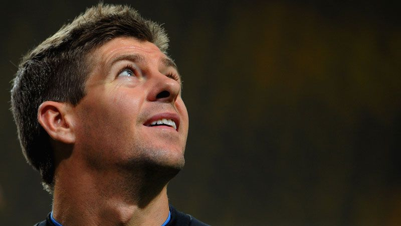 Steven Gerrard intends to spend his entire career with Liverpool