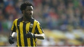 Wilfried Bony bagged a brace for Vitesse